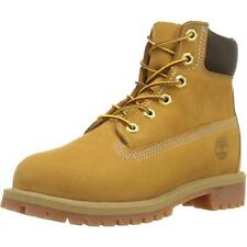 Timberland 6-inch Classic Boot Junior Wheat Nubuck Boots