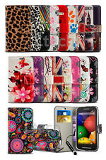 Samsung Galaxy S7562 Dual SIM - Vibrant Printed Pattern Wallet Cover & Mini Pen