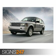 RANGE ROVER CAR 7 (AD017) CAR POSTER - Photo Picture Poster Print Art A0 to A4
