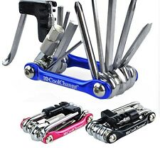 11 In 1 Multi Function Bike Repair Tool Bicycle Chain Rivet Extractor Cycling