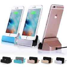 Charging Sync Cradle Desktop Charger  Dock Station Holder for iPhone 6 6S 6 Plus