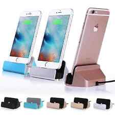 Charging Sync Cradle Desktop Charger  Dock Station Holder For iPhone 6 6S Plus