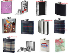 Hip Flask 8oz Stainless Steel ,Collection of Drink Flask Premier