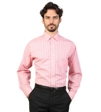 Brooks Brothers - Camisa slim fit color rosa con cuadros Hombre chico