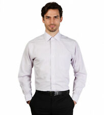 Brooks Brothers - Camisa slim fit color blanco a cuadros Hombre chico
