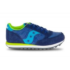 SAUCONY ORIGINALS - JAZZ ORIGINAL KIDS - blue/citron