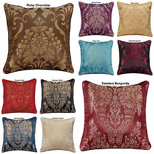 "New Decoration Home Cushion Covers Sofa Cushion Jacquard 18""x18"" In 10 Colours"