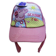 Official Licensed Girls Peppa Pig Pink legionnaires Baseball Cap Age 1-6 Years