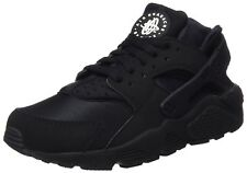 Nike Mens Air Huarache Shoes Black/Black-White 318429-003