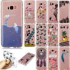 Ultra Slim Rubber Soft TPU Silicone Back Case Cover For Samsung Sony Phone