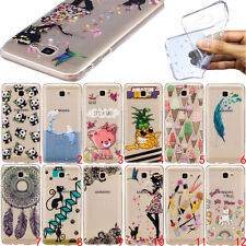 Ultra Slim Rubber Soft TPU Silicone Back Case Cover For Samsung LG Moto Phone