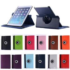 For iPad 2/3/4 360 Rotating rotate Leather Case Smart flip Cover Stand ipad2,3