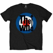 Official T Shirt THE WHO Bold Logo CLASSIC Target All Sizes