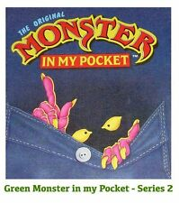 Monster in my Pocket - Series 2 - Mini Figure MIMP Matchbox MEG - Green