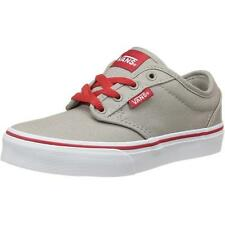 Vans Atwood Youth Gris Textil Entrenadores Zapatos