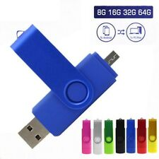 Dual USB Micro u-disco Flash Bolígrafo Pen Drive Lápiz de MEMORIA PARA TABLET PC