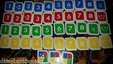 Uno Madness Game Spare Tiles for Replacement Mattel UK P & P inc