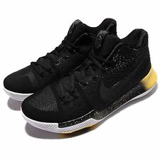 Nike Kyrie 3 EP III Kyrie Irving The Jacket Black Yellow Men Shoes 852396-901