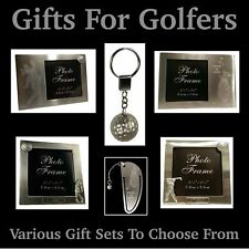 Presents for Golfers - Orange Greg Norman Polo Shirt - Fathers Day Gifts