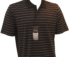 Presents for Golfers - Black Greg Norman Polo Shirt - Fathers Day Gifts