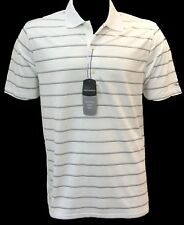 Presents for Golfers - White Greg Norman Polo Shirt - Fathers Day Gifts
