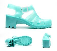 Womens JuJu Jellies Babe Pearl Aqua Jelly Sandals RRP £24.99