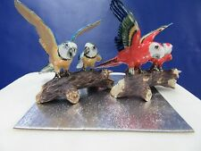 Macaw Cake Topper Scarlet Macaw or Blue & Yellow Macaw Cake Decoration - New