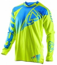 Leatt Jersey GPX 4.5 Lime Lite Camisa Azul Kit todoterreno Motocross MX Enduro