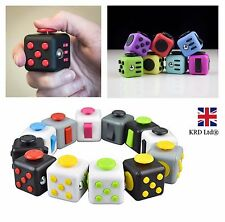 EDC FIDGET CUBE Fiddle Children Kids Toy Adults Stress Relief ADHD Boxed Gift UK