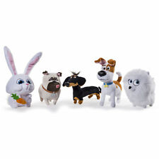"The Secret Life of Pets 6"" Plush Soft Toys Buddy, Mel, Gidget, Max, Snowball New"