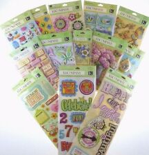 K & Company Grand Adhesions Dimensional Scrapbook Stickers *HUGE DISCOUNTS*