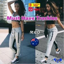Women Casual Yoga Gym Sports Pants Fitness Workout Jogging Trendy Butt Booty Fit