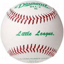 Diamond Dll-2 Little League Leather Baseballs 12 Ball Pack