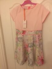 Ted Baker Girls Floral Party / Occasion Dress with sizes. BNWT. Rrp £40.00