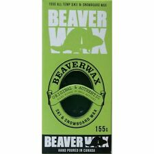 Beaver Ski / Snowboard Wax for All Temperatures 95 / 155g