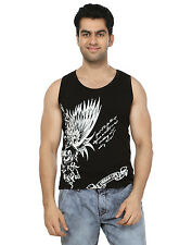 Zacharias Men's Round Neck Sleeveless Printed Sando Tshirt