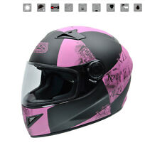 Nzi - Casco integral Must II Victory Pink rosa Mujer chica