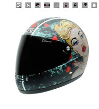 Nzi - Casco integral Street Track Graphics Bust multicolor