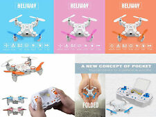 Nano 6-Axis 3D Easy to Fly Mini Drone Helicopter Stunt Action RC Remote Quadcopt