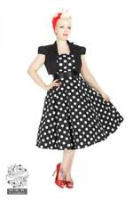 Vestido Pin up Dress 50's Lunares Polka dot Bolero Heart and Roses