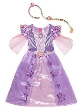 Disney licensed Princess Rapunzel Tangled fancy dress Girls Hooped Skirt Costume