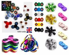MULTI OFFER EDC Steel Fidget Hand Focus Finger Spinner Pocket Stress Toy ADHD UK