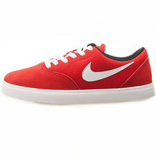 Nike SB 705266-610 Check Youth Red White Trainers Brand New Shoes Boxed