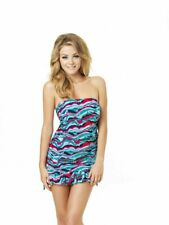 Clearance....Cleo by Panache Tilly CW0011 Bird Print Tankini Top Sizes 28-32 D-G