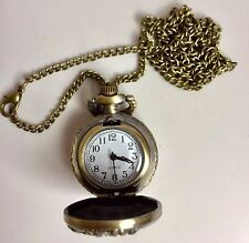 SALE Chinese 12 Zodiac Lucky Animal Bronze Watch Pocket Necklace Birthday Gift