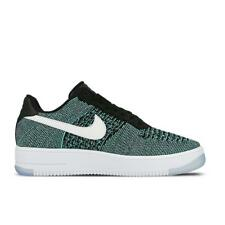 Mens NIKE AF1 ULTRA FLYKNIT LOW Hyper Jade Trainers 817419 300