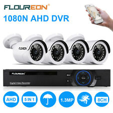 8CH 1080N CCTV DVR Recorder 1500/2000TVL Outdoor Dome Camera Security Kit System