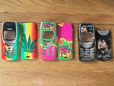 MOBILE PHONE FRONT & BACK FASCIA HOUSING COVER & KEYPAD NOKIA 8210 - 3 DESIGNS
