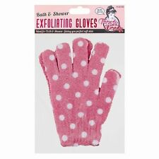 Exfoliating Gloves Bath Shower Face Skin Body Wash Massage - New