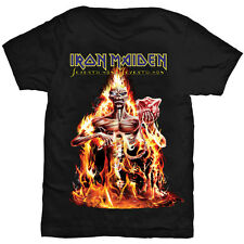 Iron Maiden T Shirt Seventh Son Of A Seventh Son Official Mens Unisex Black Tee